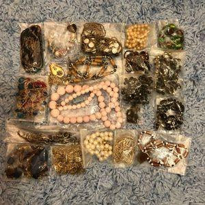 Vintage Necklace Bundle Lot Grab Bag